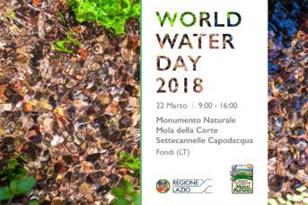 Le iniziative del Parco Naturale dei Monti Aurunci per la Giornata Mondiale dell'Acqua 2018