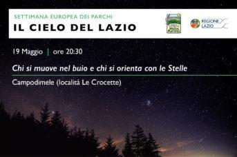 I Cieli del Lazio – Chi si muove nel buio…e chi si orienta con le stelle