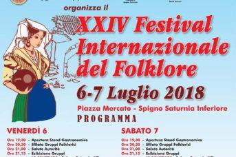 Festival del Folklore a Spigno Saturnia